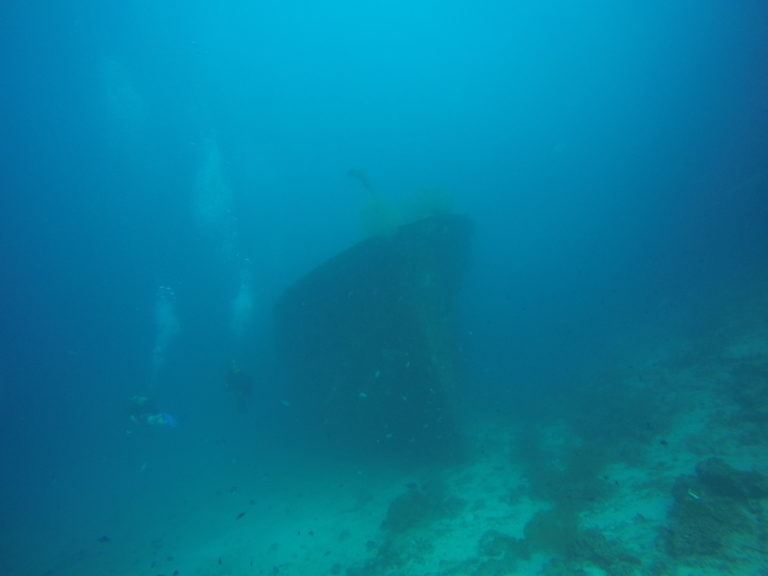 Malediven 7 - Wrack